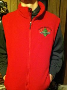 Adult OA Fleece Vest